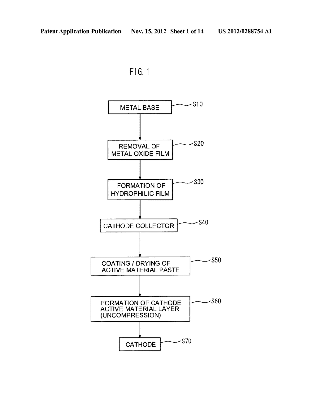 CATHODE AND METHOD FOR MANUFACTURING THE SAME - diagram, schematic, and image 02