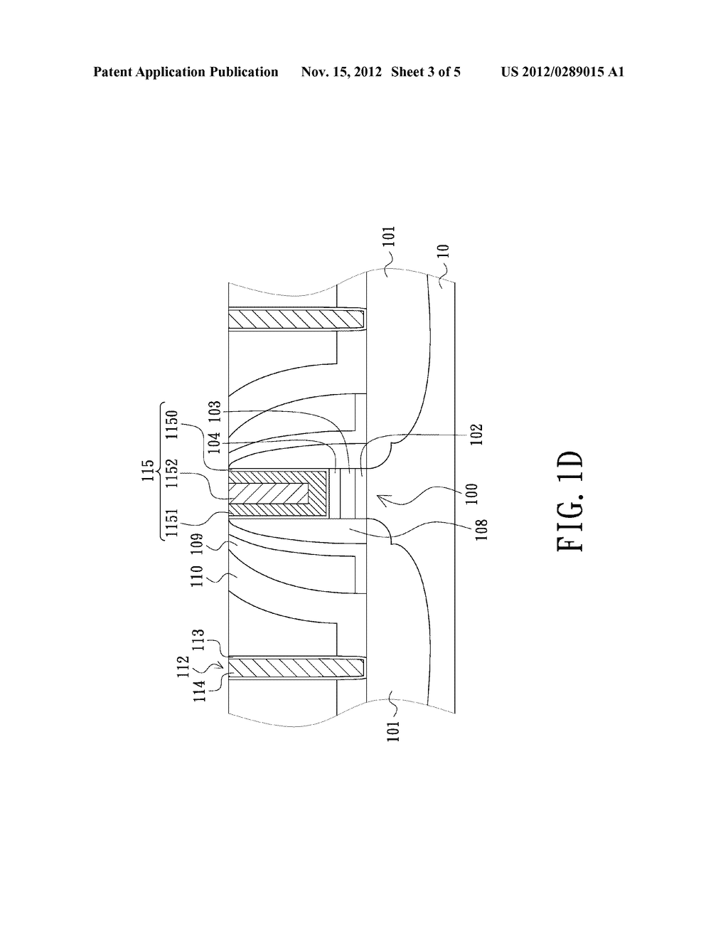 METHOD FOR FABRICATING SEMICONDUCTOR DEVICE WITH ENHANCED CHANNEL STRESS - diagram, schematic, and image 04