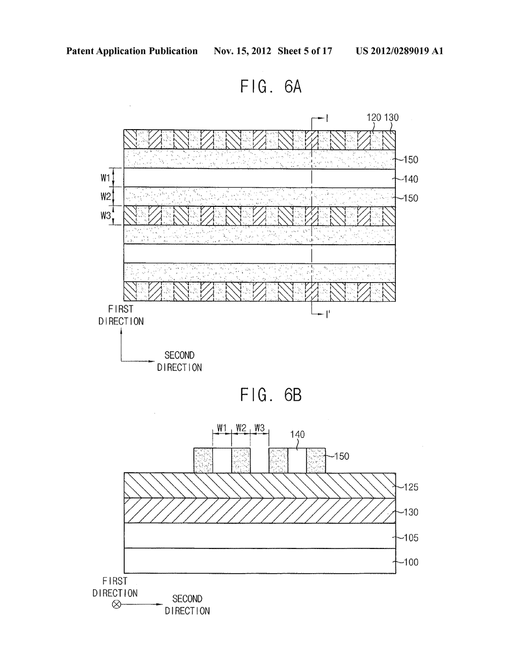 METHODS OF FORMING A PATTERN AND METHODS OF MANUFACTURING A SEMICONDUCTOR     DEVICE USING THE SAME - diagram, schematic, and image 06