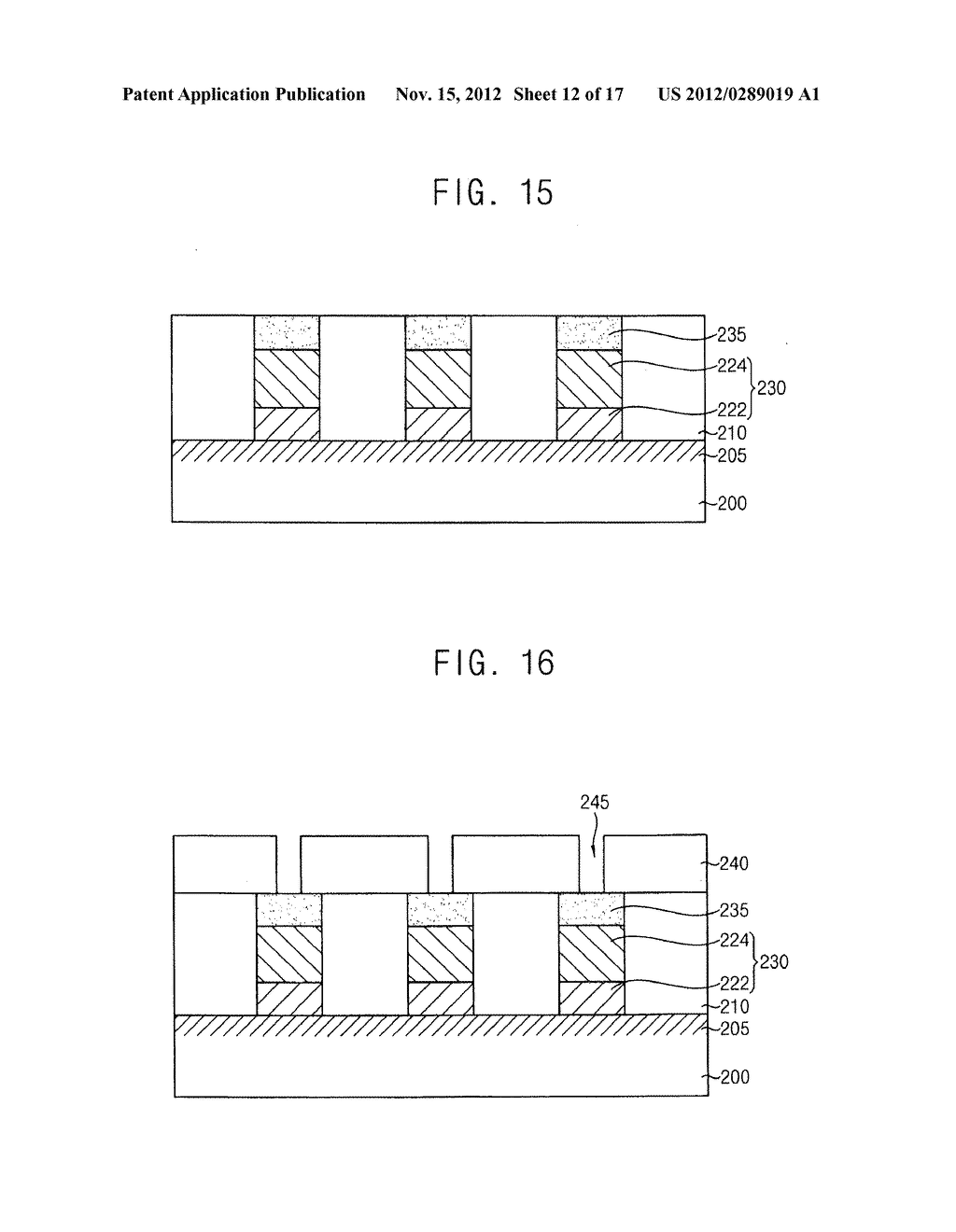 METHODS OF FORMING A PATTERN AND METHODS OF MANUFACTURING A SEMICONDUCTOR     DEVICE USING THE SAME - diagram, schematic, and image 13