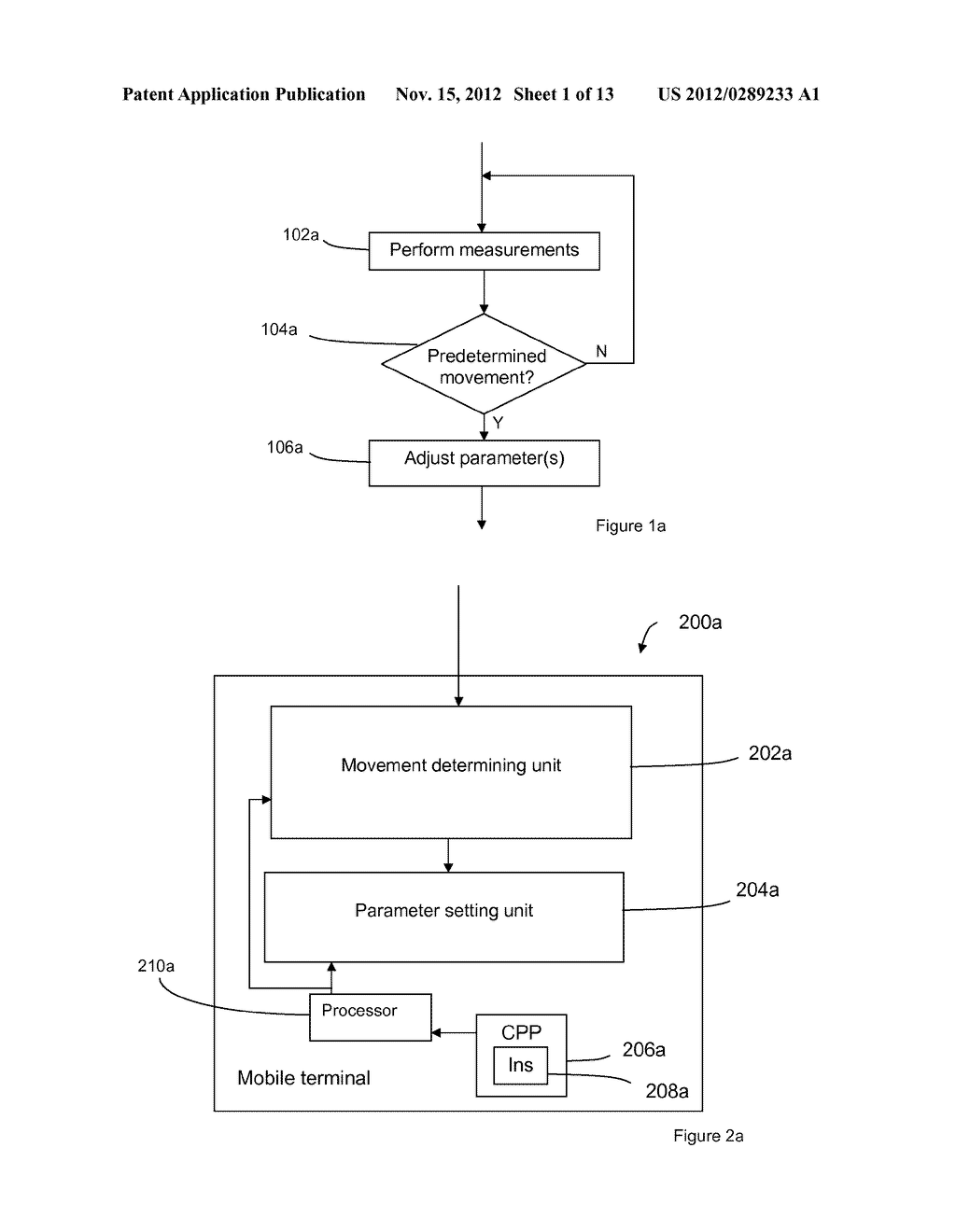 Method and Arrangement for Supporting Handover of a Mobile Terminal in     Certain Scenarios - diagram, schematic, and image 02