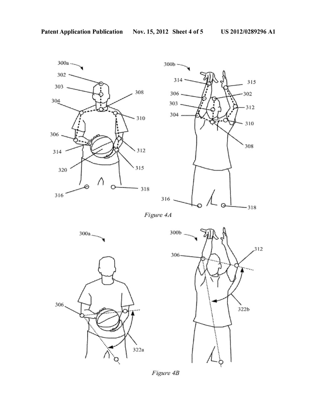 METHOD AND APPARATUS FOR VIDEO GAME SIMULATIONS USING MOTION CAPTURE - diagram, schematic, and image 05