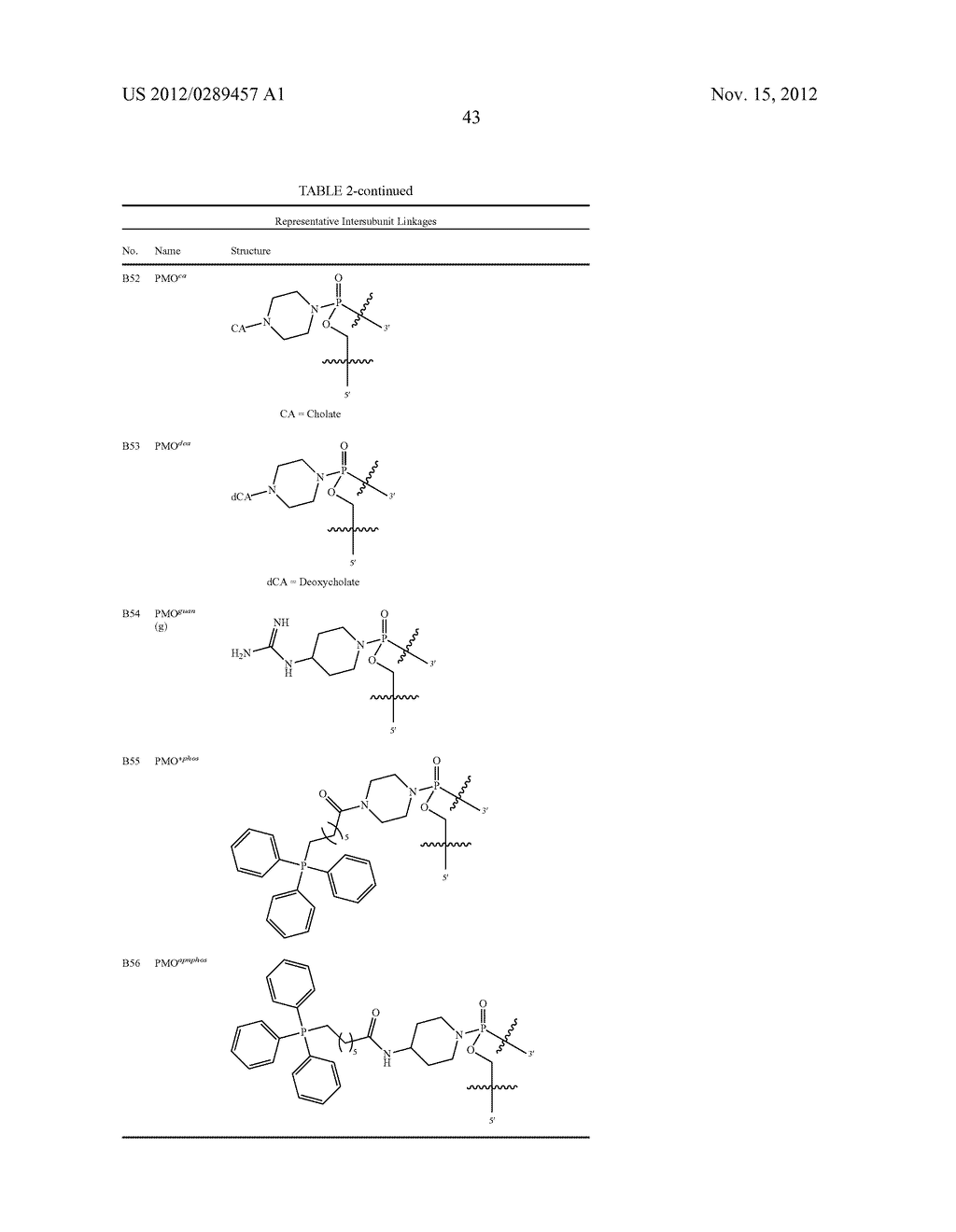 PEPTIDE OLIGONUCLEOTIDE CONJUGATES - diagram, schematic, and image 65