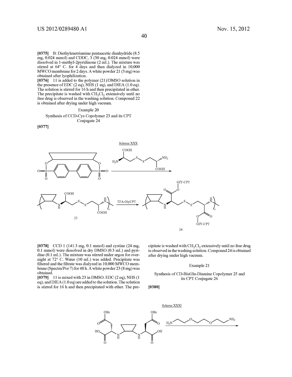 CYCLODEXTRIN-BASED POLYMERS FOR THERAPEUTICS DELIVERY - diagram, schematic, and image 52