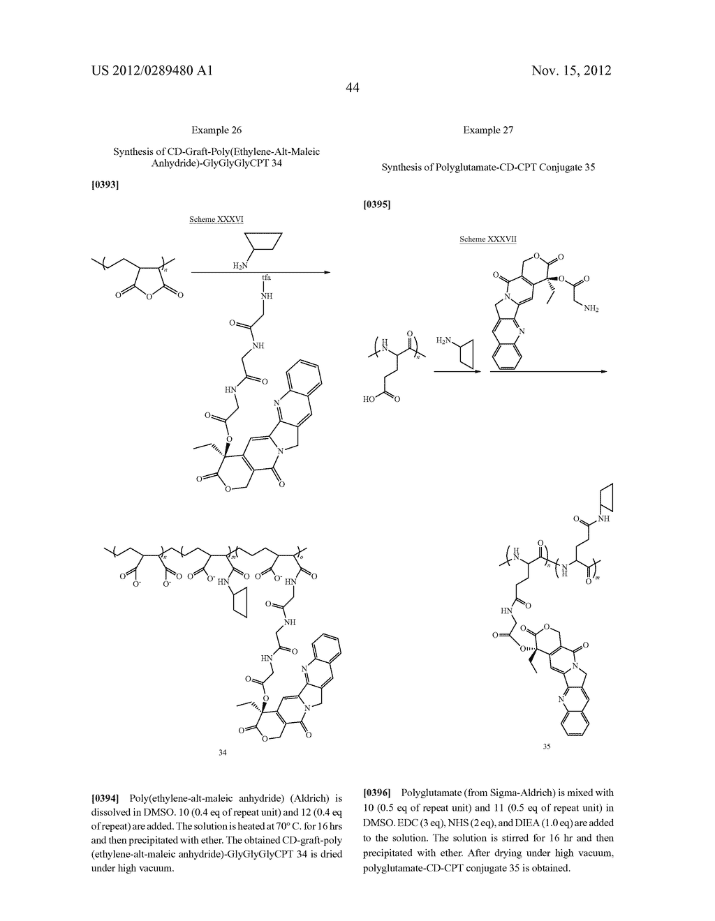 CYCLODEXTRIN-BASED POLYMERS FOR THERAPEUTICS DELIVERY - diagram, schematic, and image 56