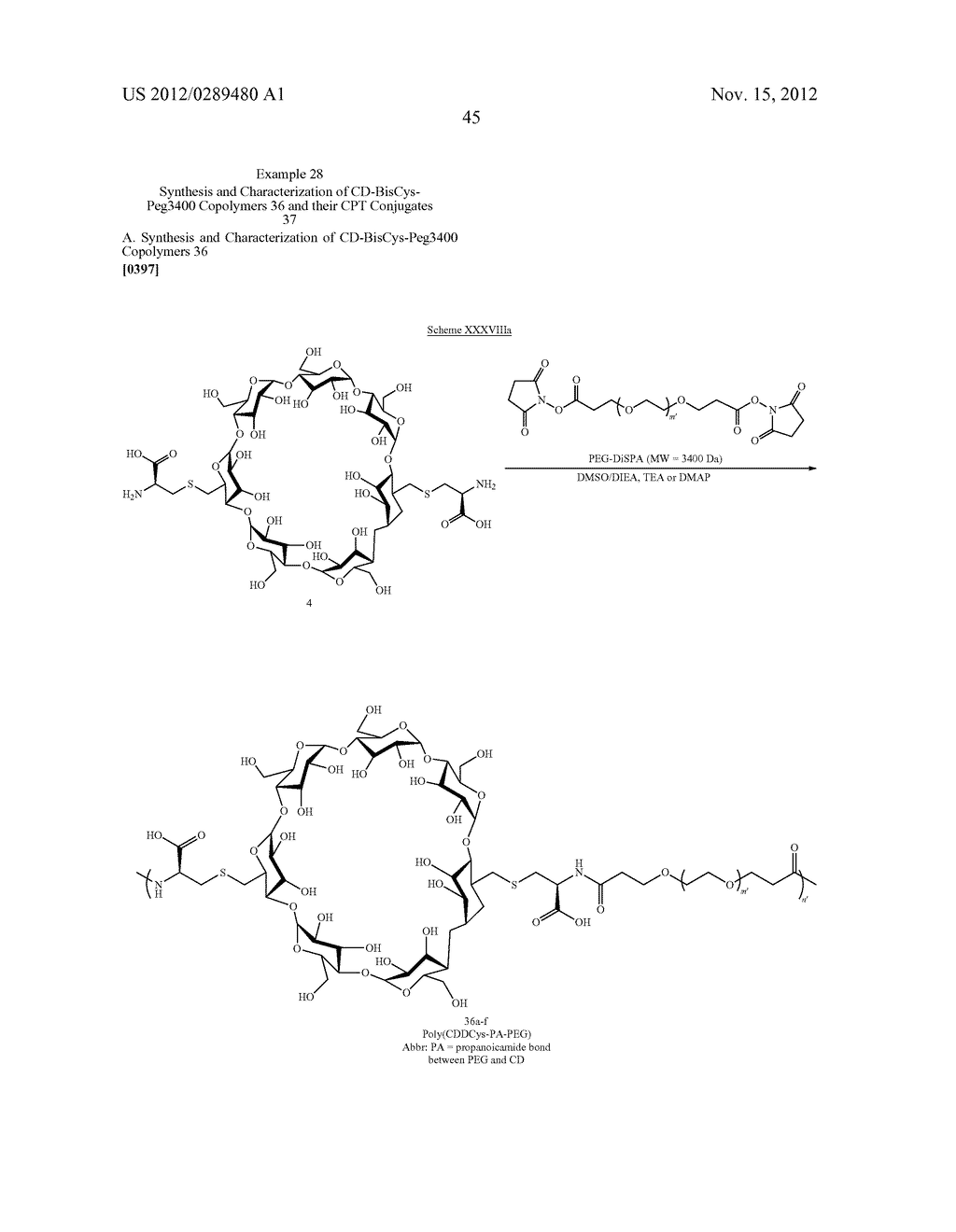 CYCLODEXTRIN-BASED POLYMERS FOR THERAPEUTICS DELIVERY - diagram, schematic, and image 57