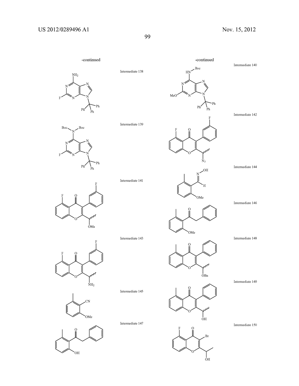 NOVEL COMPOUNDS AS MODULATORS OF PROTEIN KINASES - diagram, schematic, and image 100