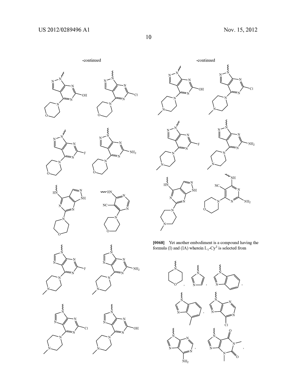 NOVEL COMPOUNDS AS MODULATORS OF PROTEIN KINASES - diagram, schematic, and image 11