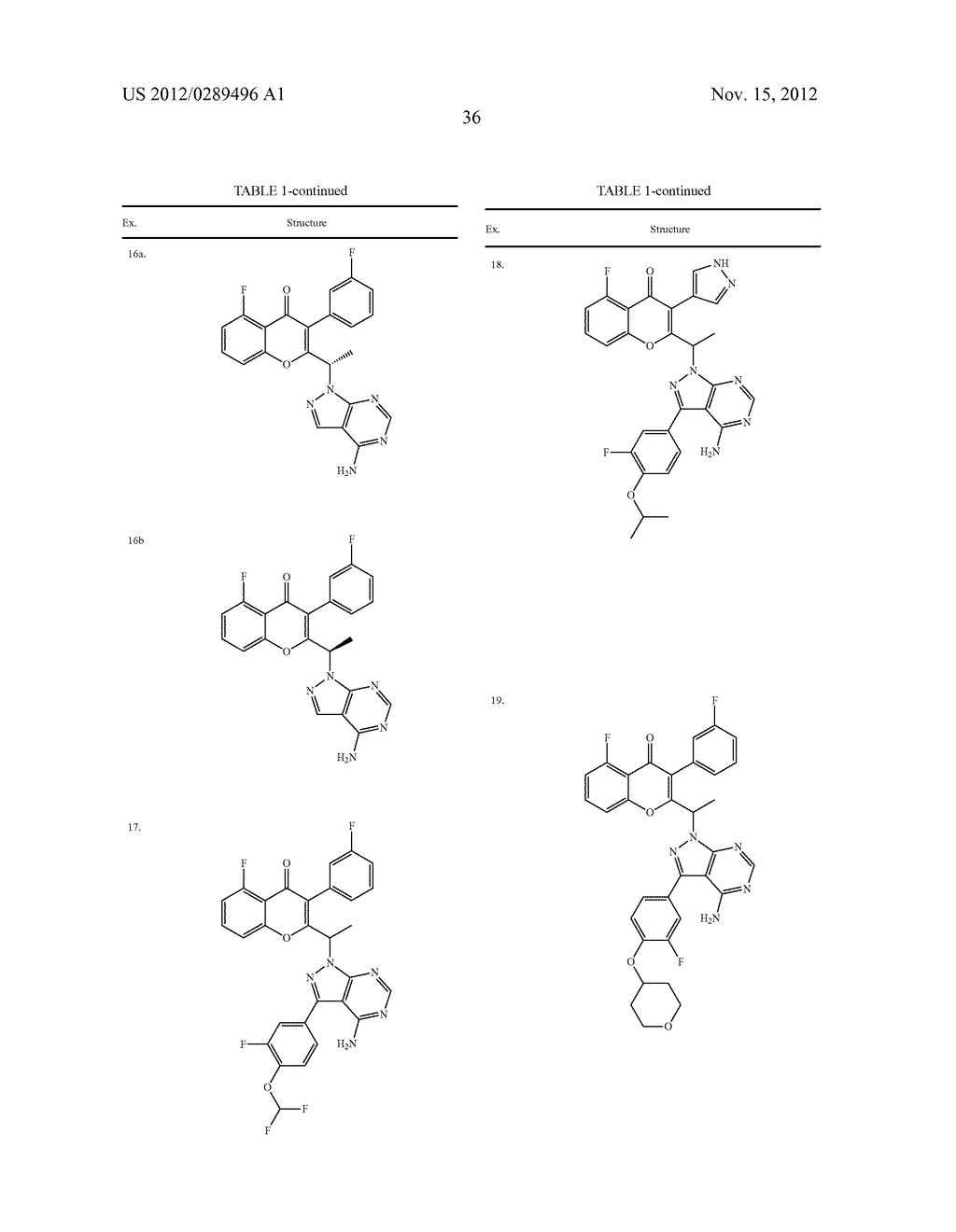 NOVEL COMPOUNDS AS MODULATORS OF PROTEIN KINASES - diagram, schematic, and image 37