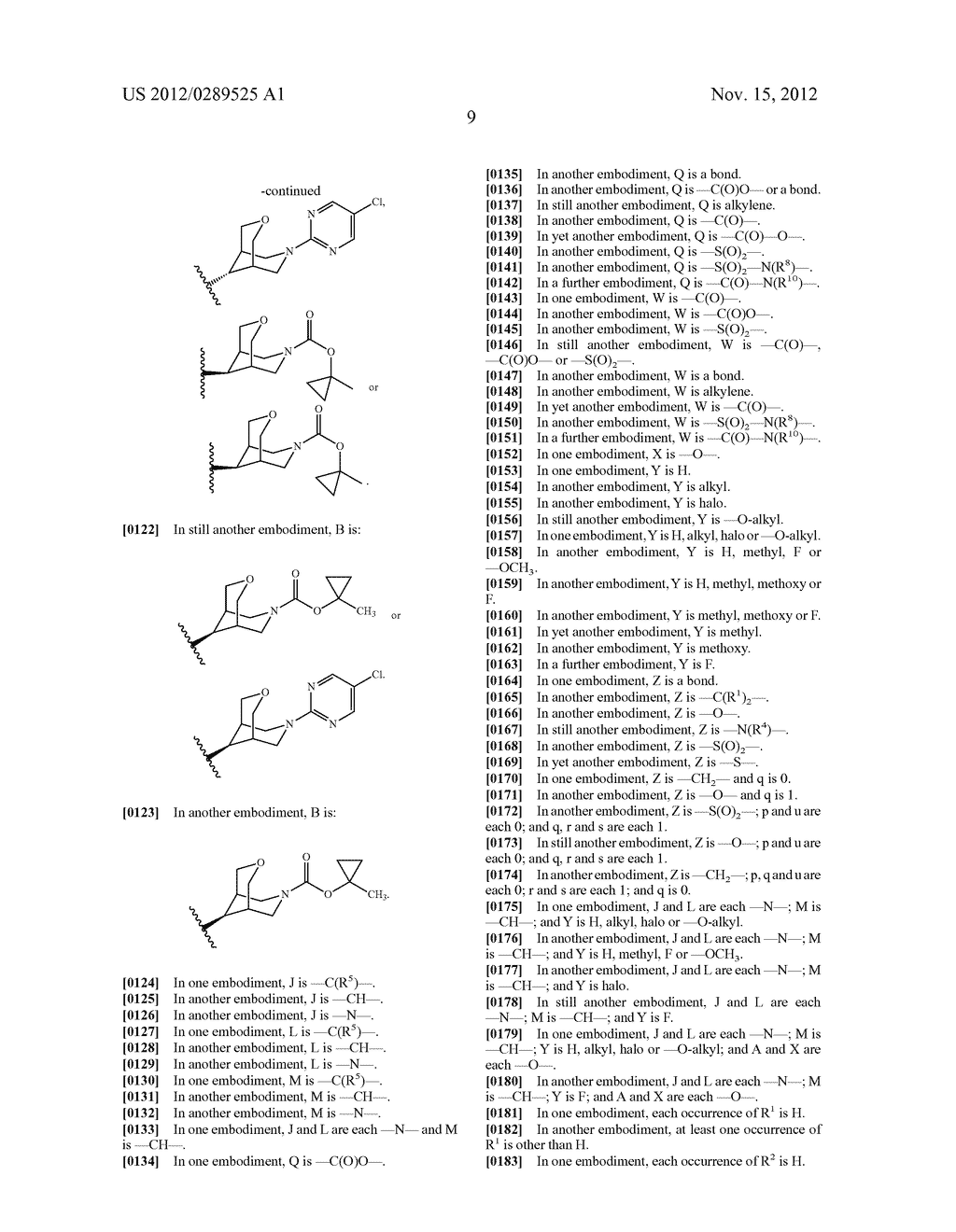 PYRIMIDINE ETHER DERIVATIVES AND METHODS OF USE THEREOF - diagram, schematic, and image 10