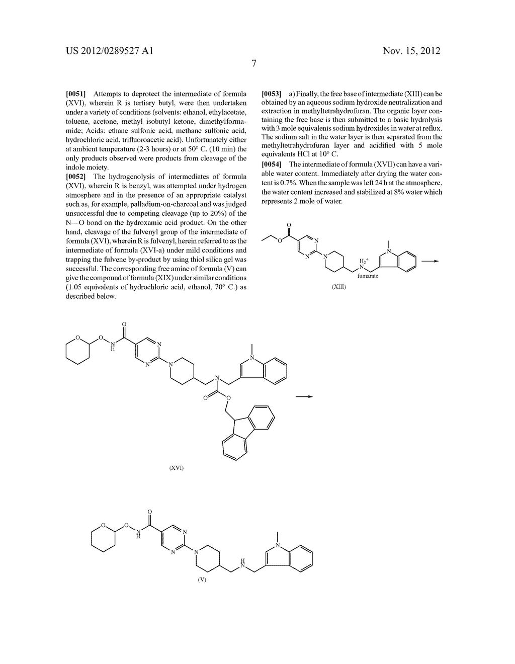 MONO-HYDROCHLORIC SALTS OF AN INHIBITOR OF HISTONE DEACETYLASE - diagram, schematic, and image 24