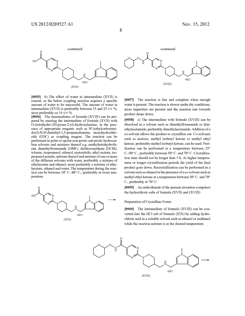 MONO-HYDROCHLORIC SALTS OF AN INHIBITOR OF HISTONE DEACETYLASE - diagram, schematic, and image 25