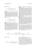 PHOTO-CROSSLINKABLE LIQUID CRYSTAL MONOMERS WITH OPTICAL ACTIVITY diagram and image