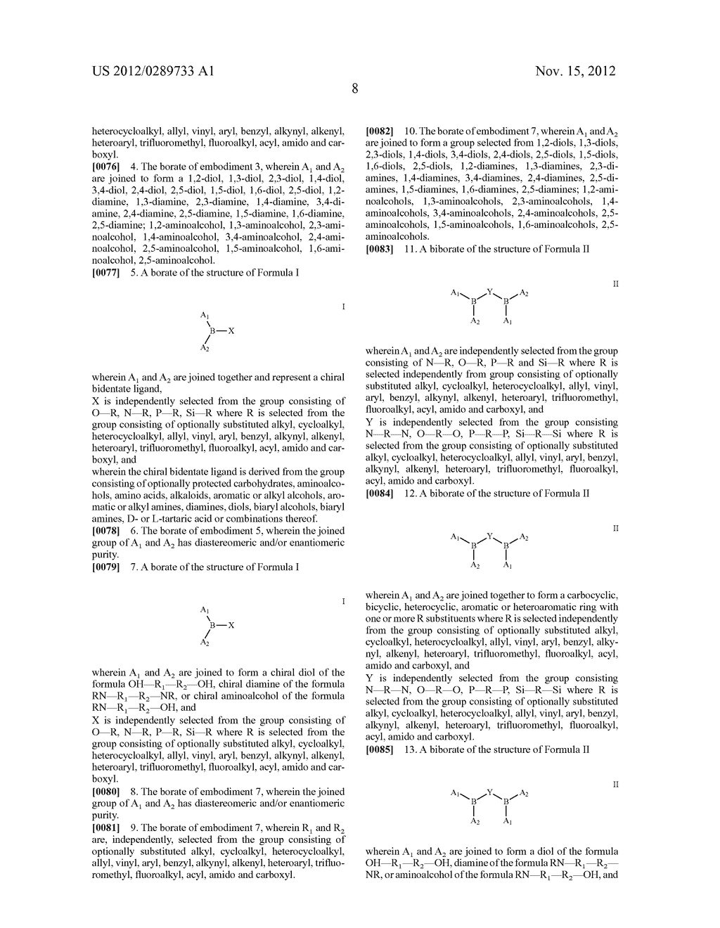 NOVEL BORATE DERIVATIVES AND THEIR APPLICATIONS - diagram, schematic, and image 09