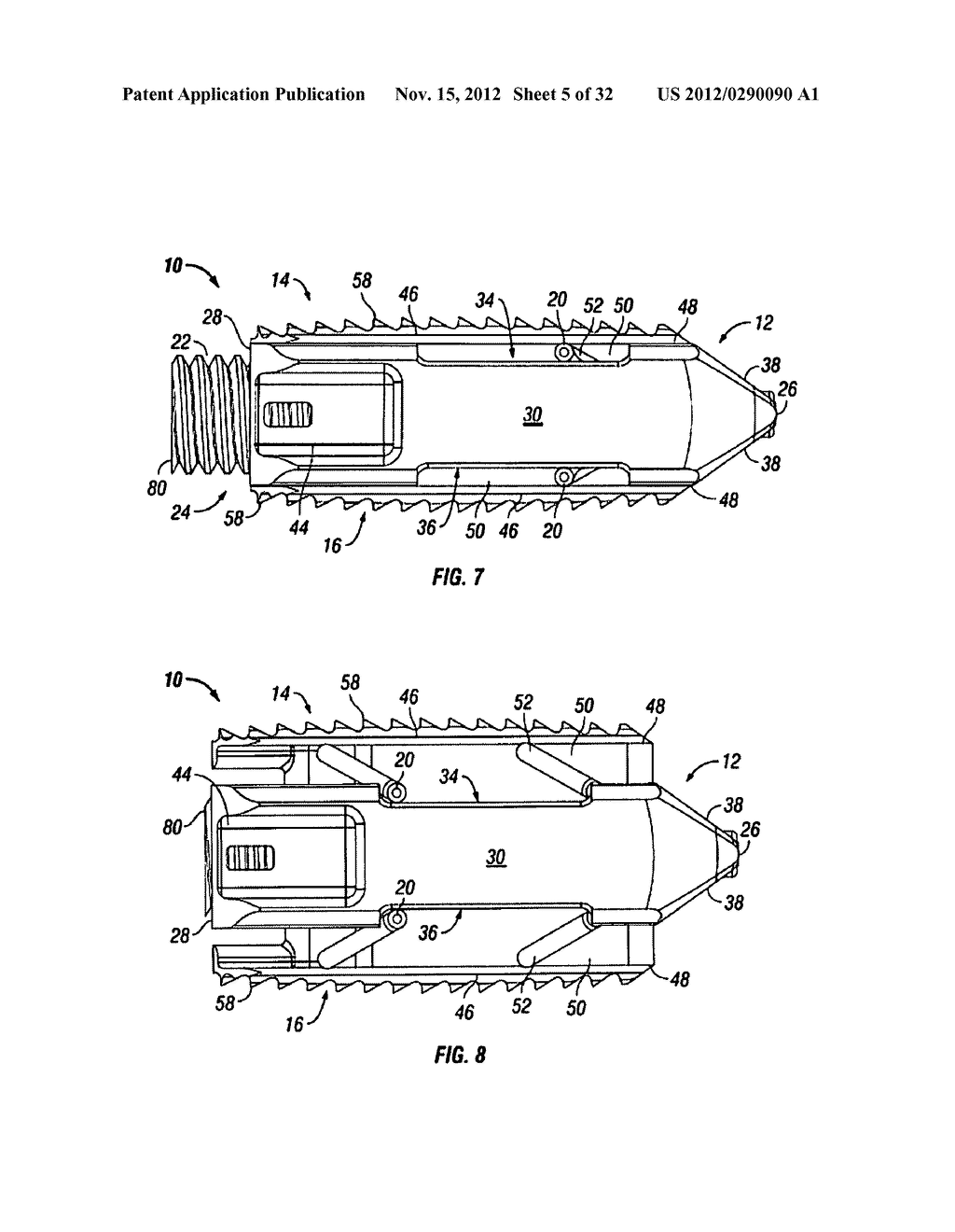 Expandable Fusion Device and Method of Installation Thereof - diagram, schematic, and image 06