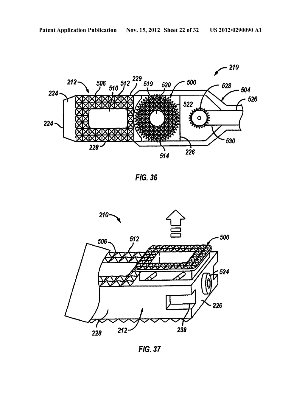 Expandable Fusion Device and Method of Installation Thereof - diagram, schematic, and image 23
