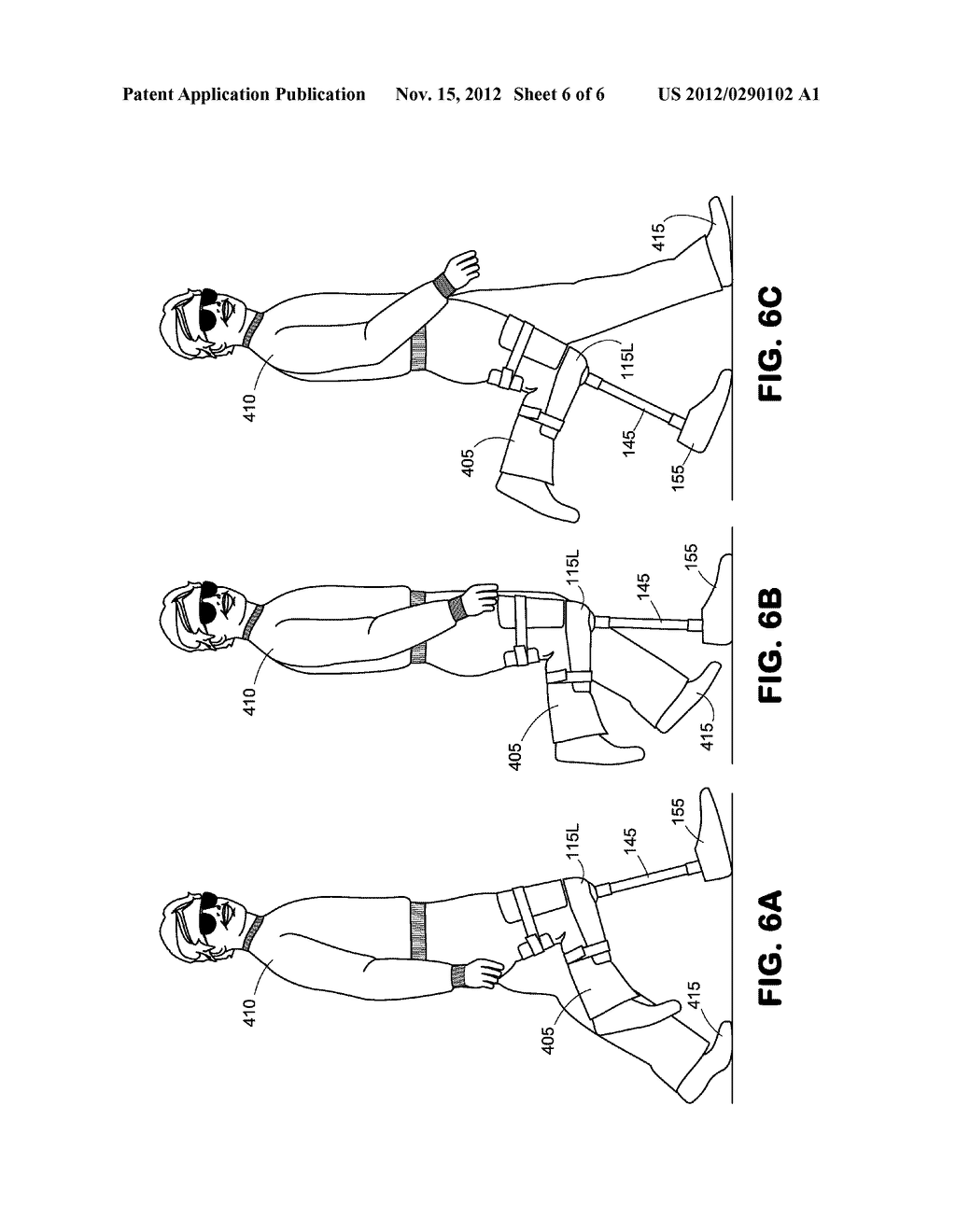 Knee Crutch System - diagram, schematic, and image 07