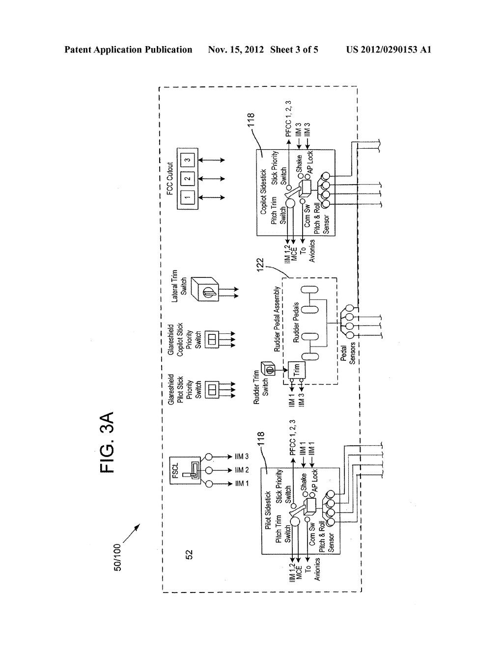 FLIGHT CONTROL SYSTEM WITH ALTERNATE CONTROL PATH - diagram, schematic, and image 04