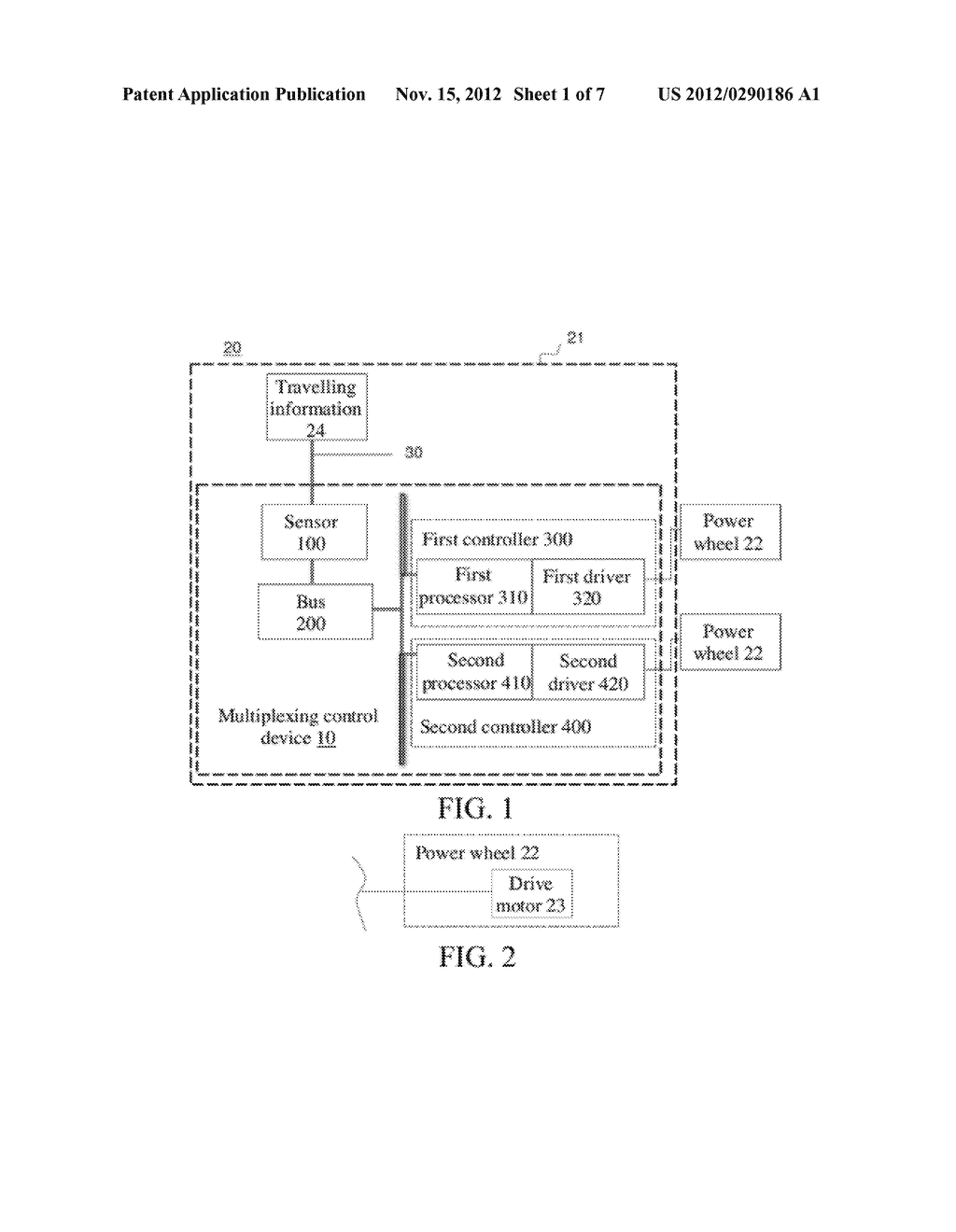 MULTIPLEX CONTROL SYSTEM, TRANSPORT DEVICE HAVING MULTIPLEX CONTROL     SYSTEM, AND CONTROL METHOD THEREOF - diagram, schematic, and image 02