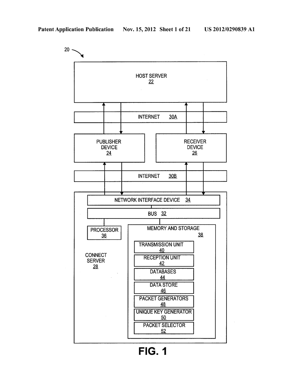 METHOD AND SYSTEM OF COMMUNICATING INFORMATION DISPLAYED AT A PUBLISHER     DEVICE WITH A RECEIVER DEVICE - diagram, schematic, and image 02