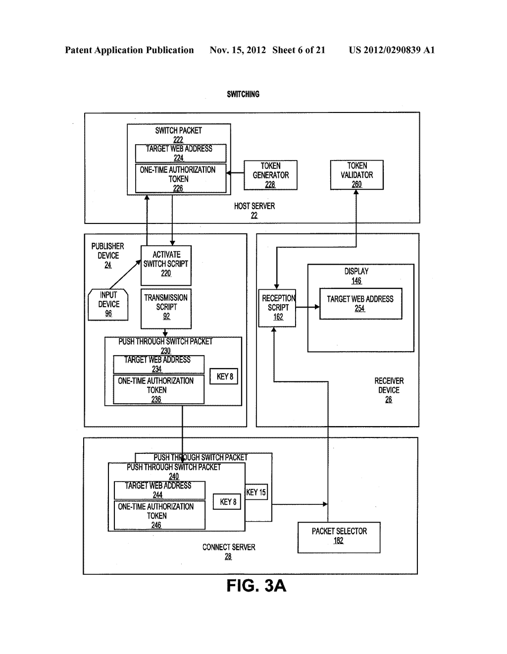 METHOD AND SYSTEM OF COMMUNICATING INFORMATION DISPLAYED AT A PUBLISHER     DEVICE WITH A RECEIVER DEVICE - diagram, schematic, and image 07