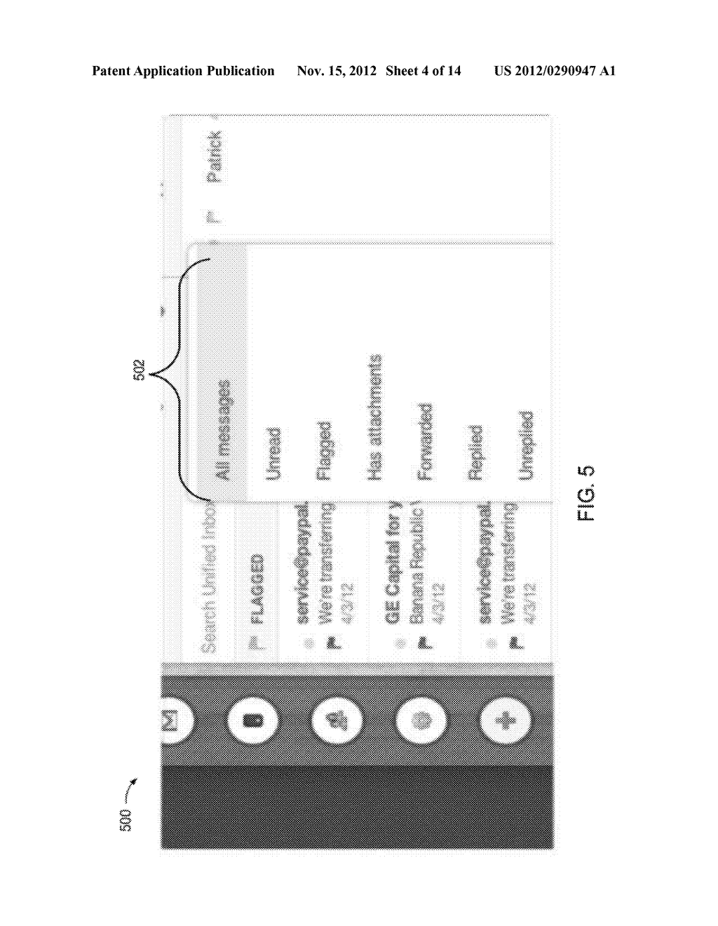METHODS AND SYSTEMS TO FILTER AND DISPLAY ELECTRONIC MESSAGES - diagram, schematic, and image 05