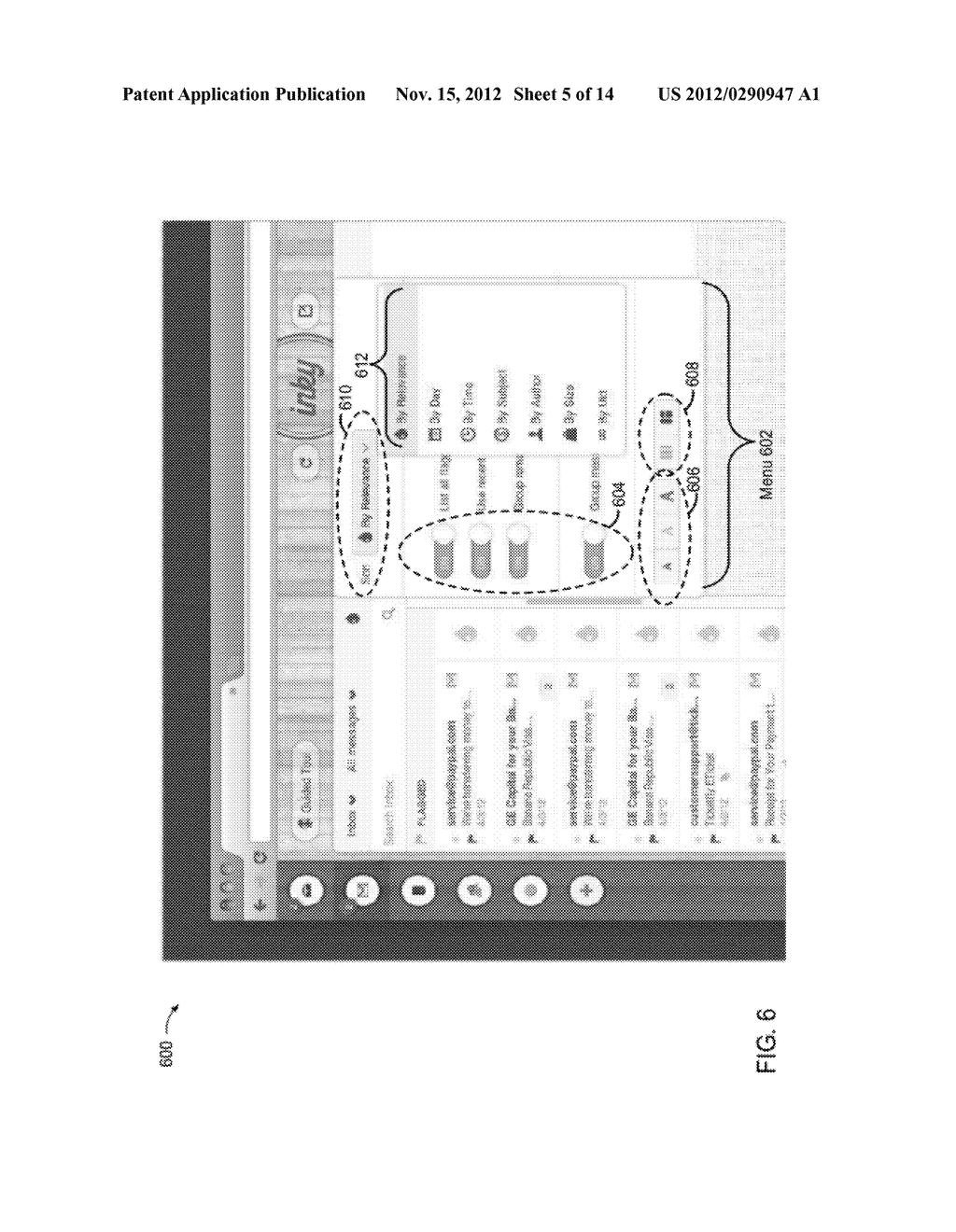 METHODS AND SYSTEMS TO FILTER AND DISPLAY ELECTRONIC MESSAGES - diagram, schematic, and image 06