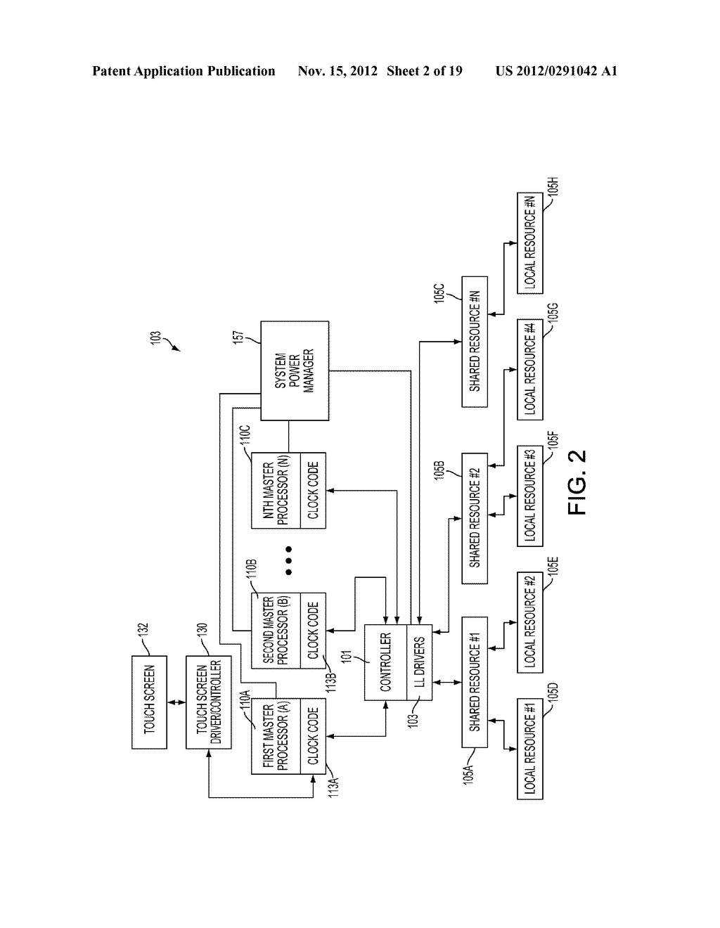 MINIMIZING RESOURCE LATENCY BETWEEN PROCESSOR APPLICATION STATES IN A     PORTABLE COMPUTING DEVICE BY SCHEDULING RESOURCE SET TRANSITIONS - diagram, schematic, and image 03