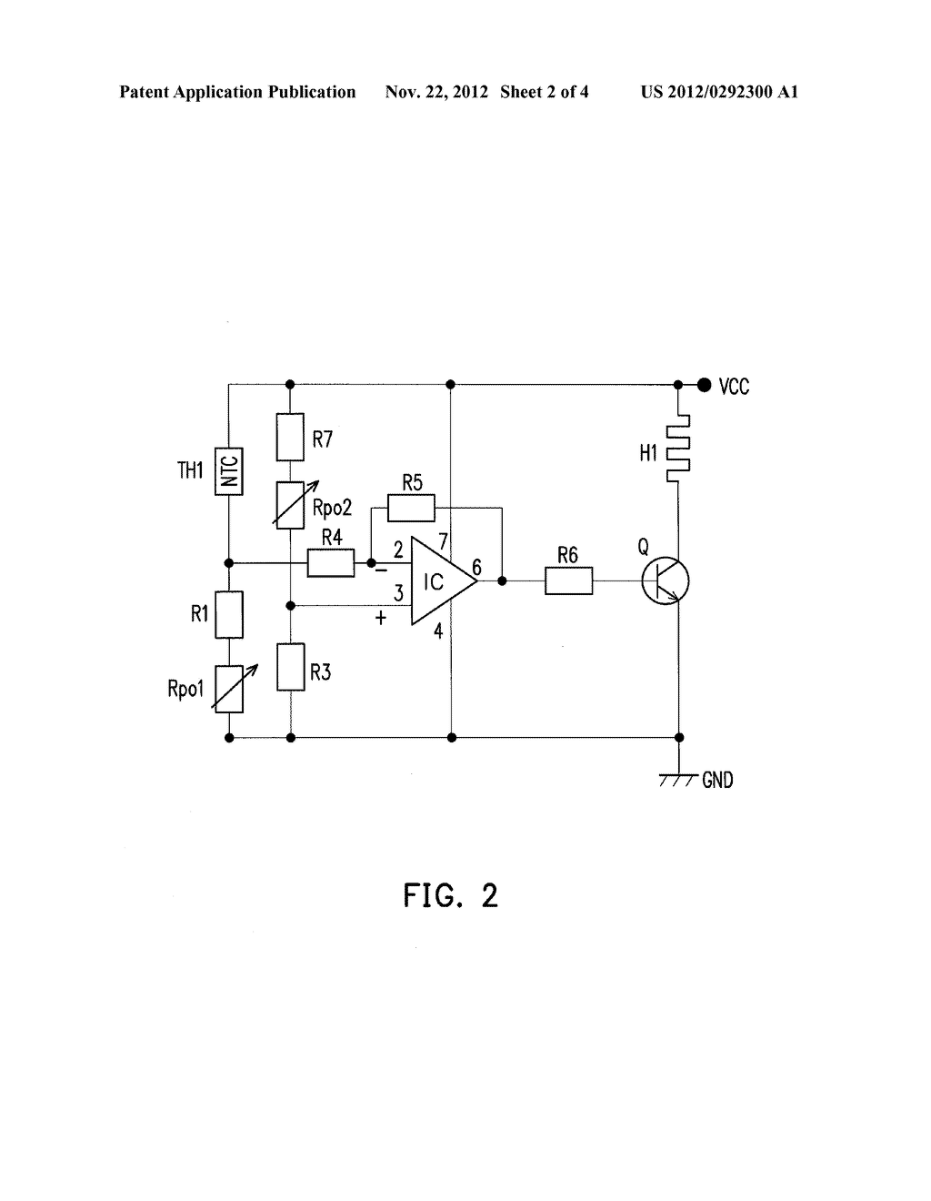 Temperature Control Circuit Of Oven Controlled Crystal Oscillator Schematic Diagram And Image 03