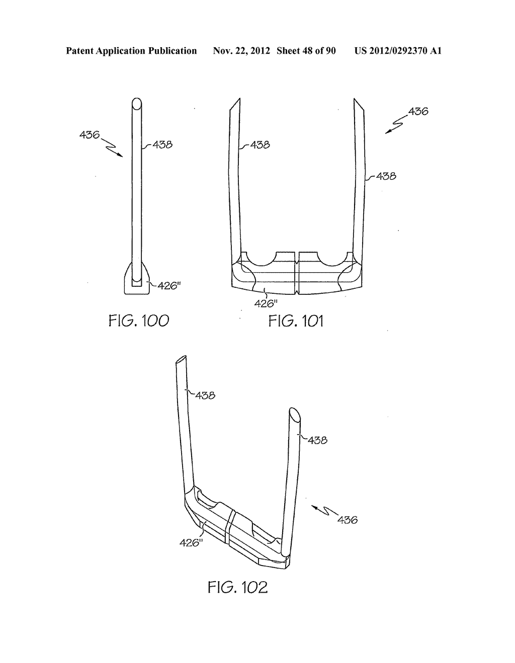 SURGICAL STAPLING SYSTEMS AND STAPLE CARTRIDGES FOR DEPLOYING SURGICAL     STAPLES WITH TISSUE COMPRESSION FEATURES - diagram, schematic, and image 49