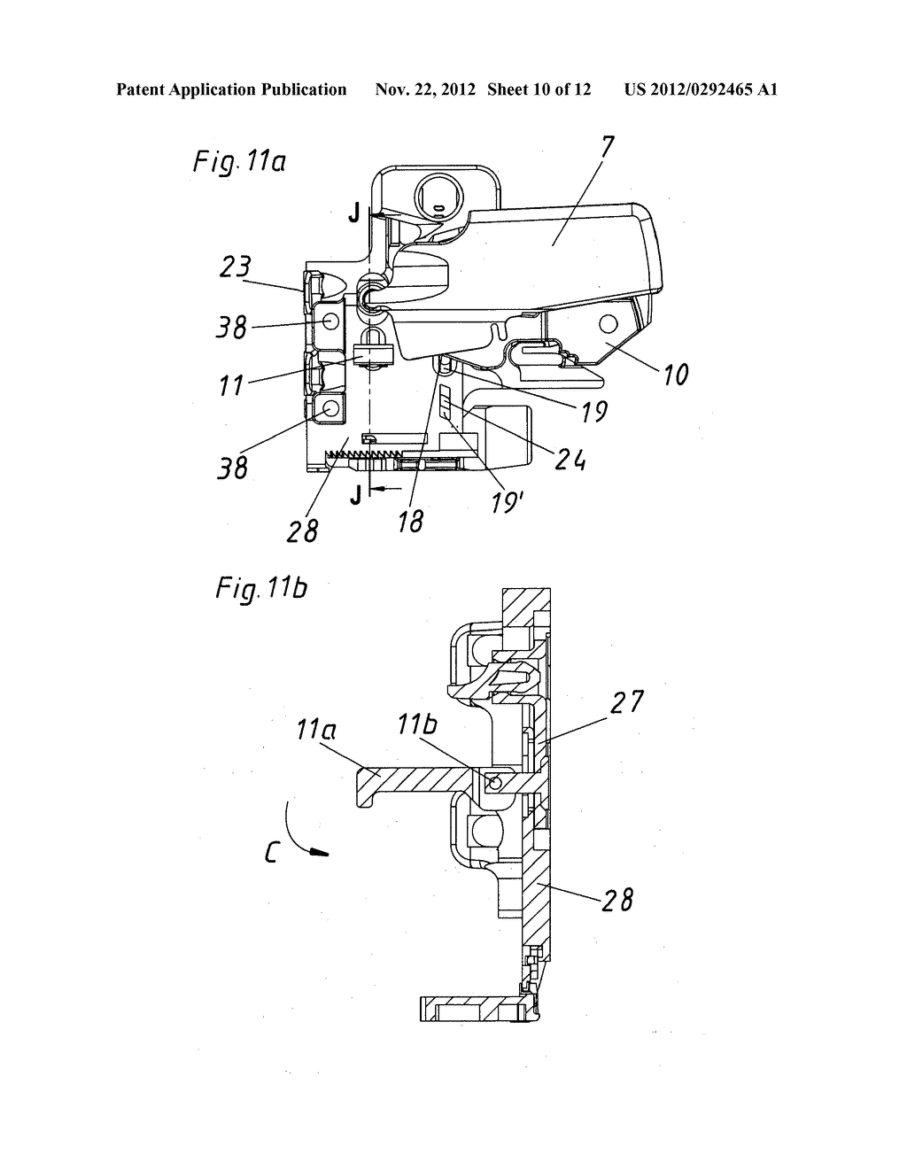 COUPLING DEVICE HAVING SIDE ADJUSTMENT FOR A DRAWER - diagram, schematic, and image 11