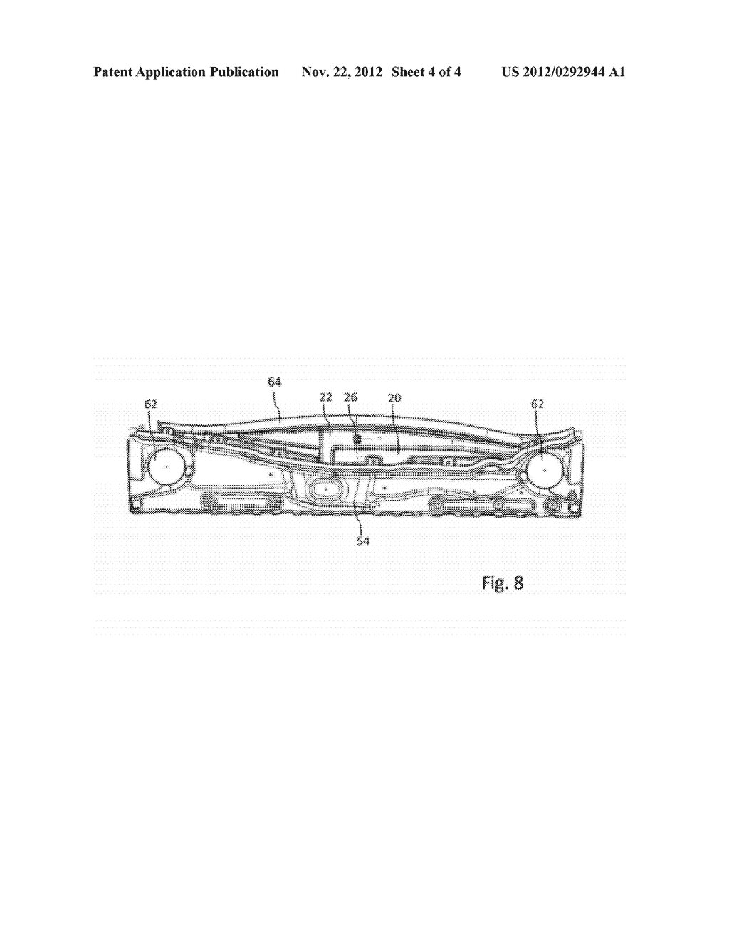 FASTENING DEVICE FOR A PANEL ELEMENT OF A MOTOR VEHICLE BODY - diagram, schematic, and image 05