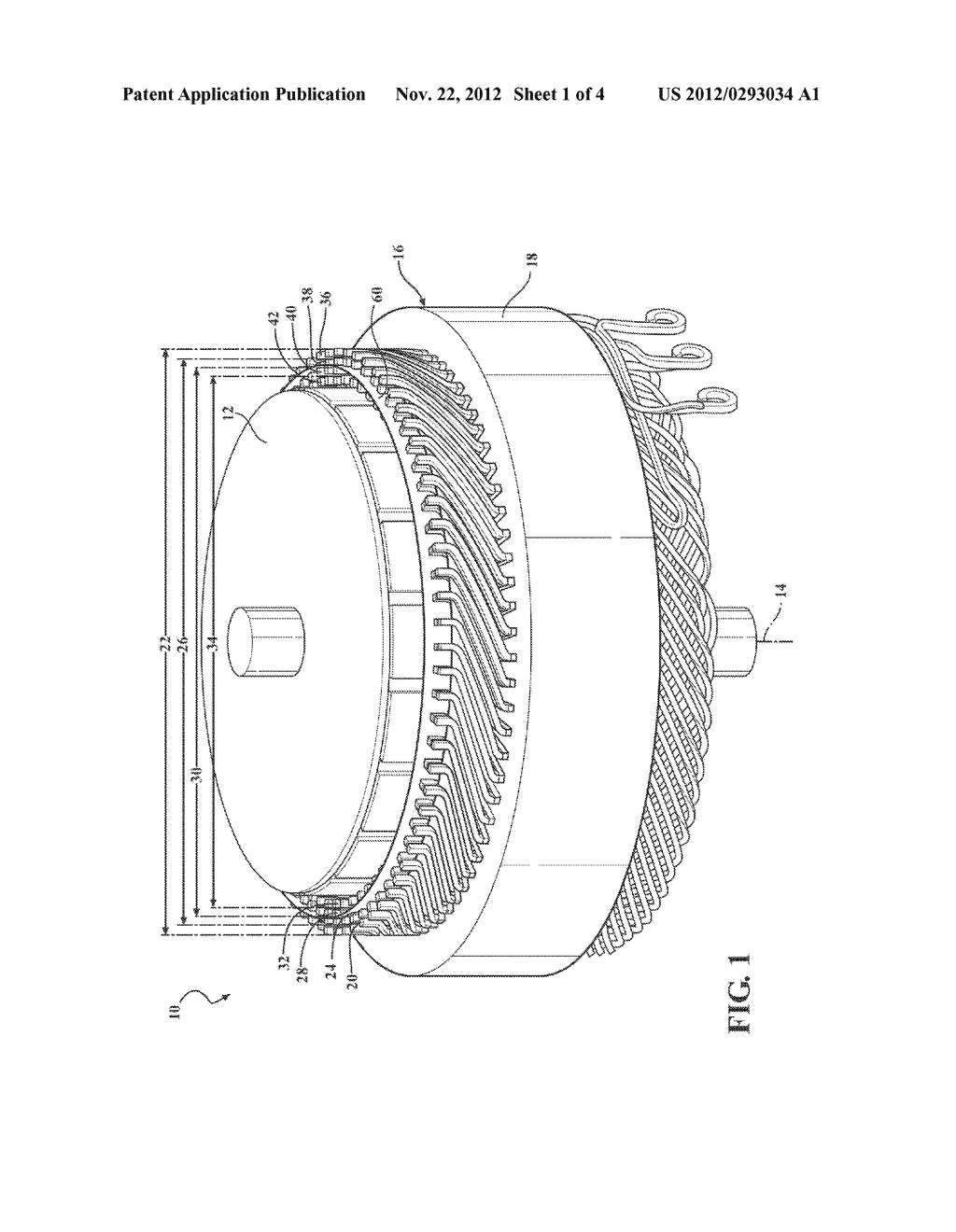 STATOR FOR AN ELECTRIC MOTOR - diagram, schematic, and image 02