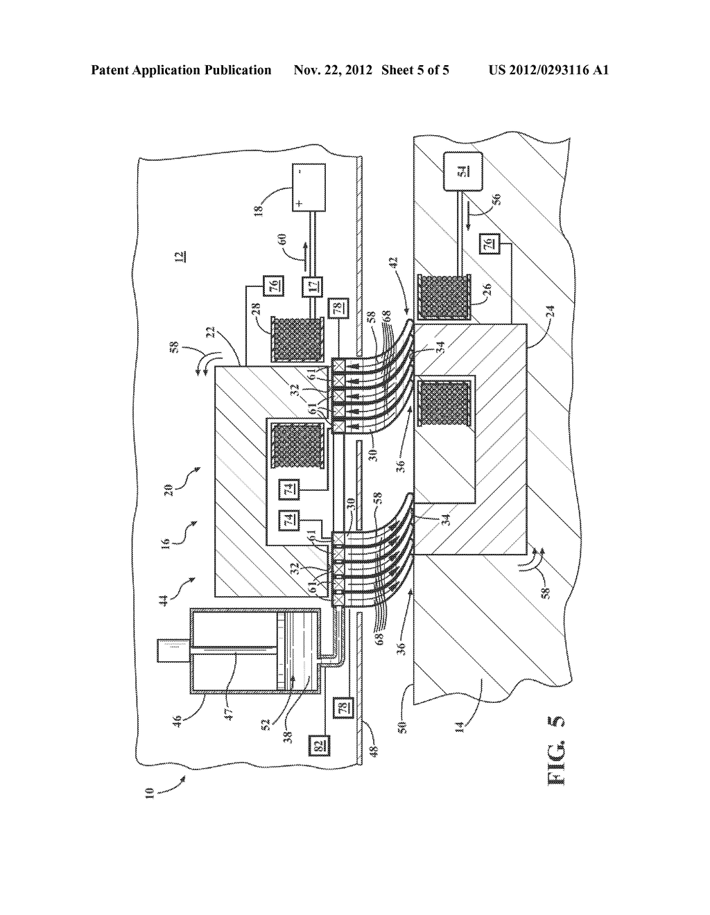 SYSTEM AND METHOD OF FILLING AN AIR GAP BETWEEN A PAIR OF CORE SECTIONS OF     A TRANSFORMER - diagram, schematic, and image 06