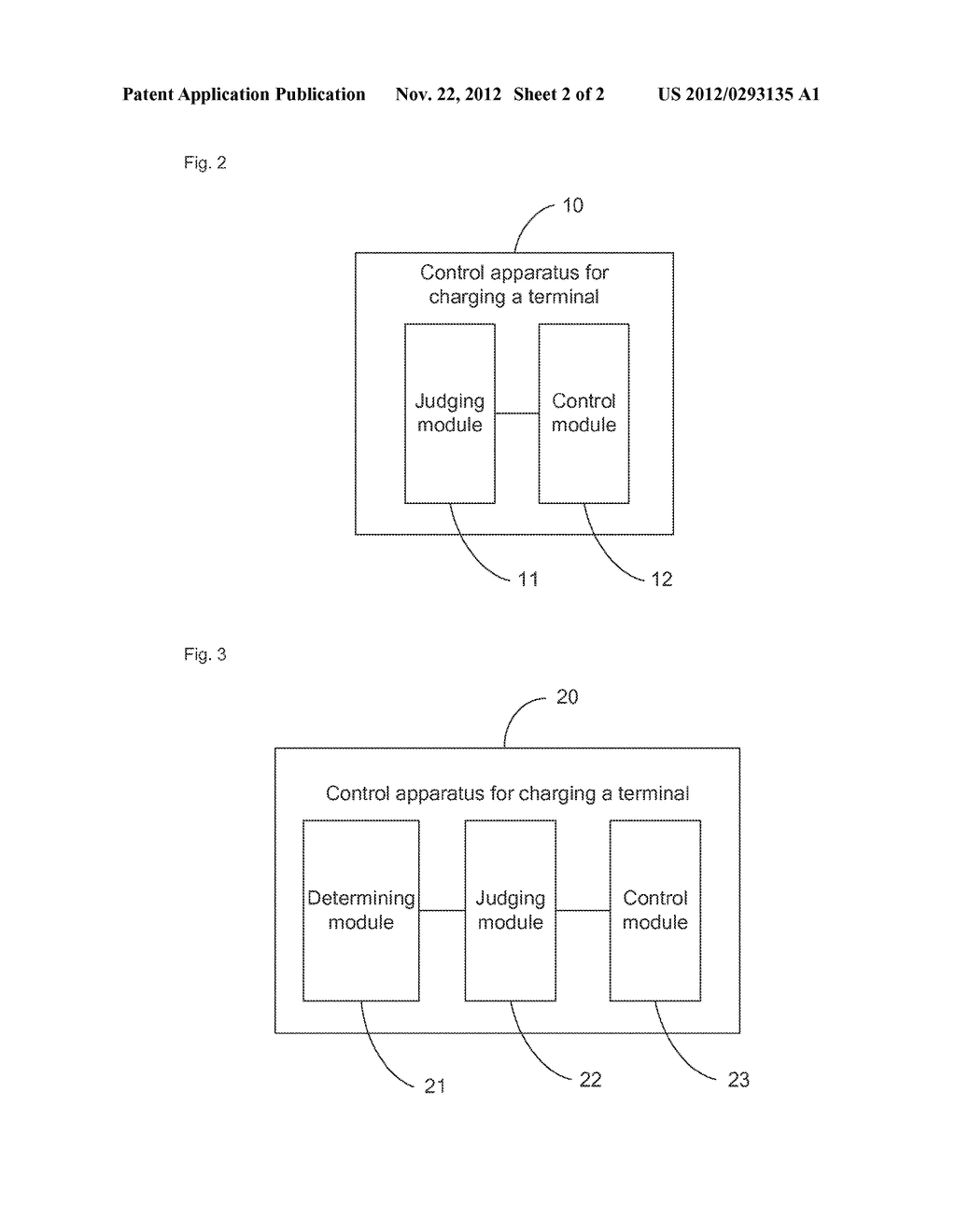 CONTROL METHOD FOR CHARGING TERMINAL AND APPARATUS THEREOF - diagram, schematic, and image 03