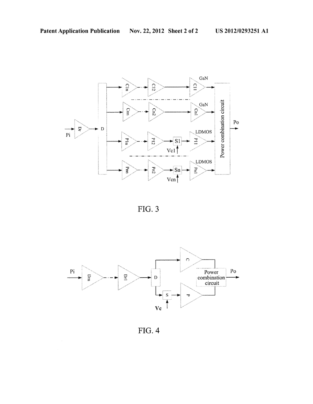 DOHERTY POWER AMPLIFIER AND IMPLEMENTATION METHOD THEREOF - diagram, schematic, and image 03
