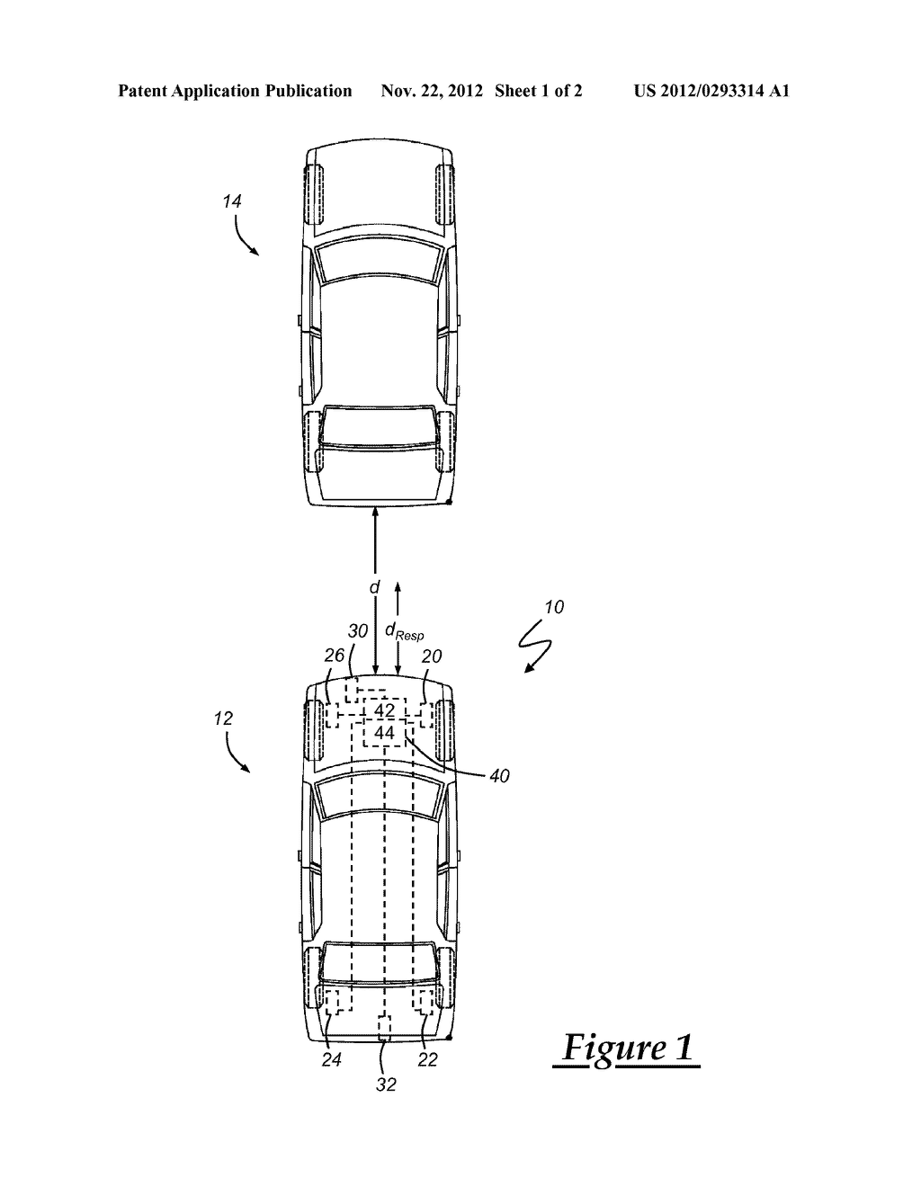 VEHICLE COLLISION WARNING SYSTEM AND METHOD OF OPERATING THE SAME - diagram, schematic, and image 02
