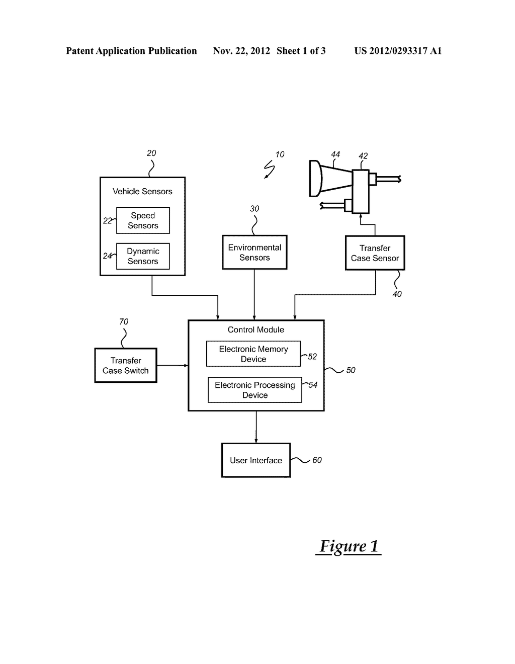 METHOD FOR USE WITH VEHICLE HAVING SELECTABLE TRANSFER CASE - diagram, schematic, and image 02
