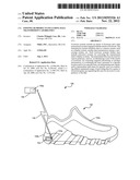 Footwear Products Including Data Transmission Capabilities diagram and image