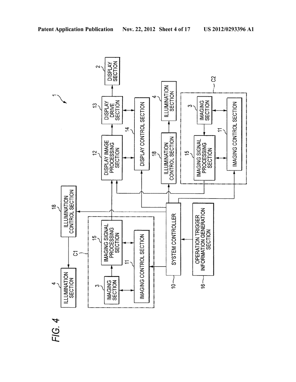 IMAGING DISPLAY APPARATUS AND METHOD - diagram, schematic, and image 05