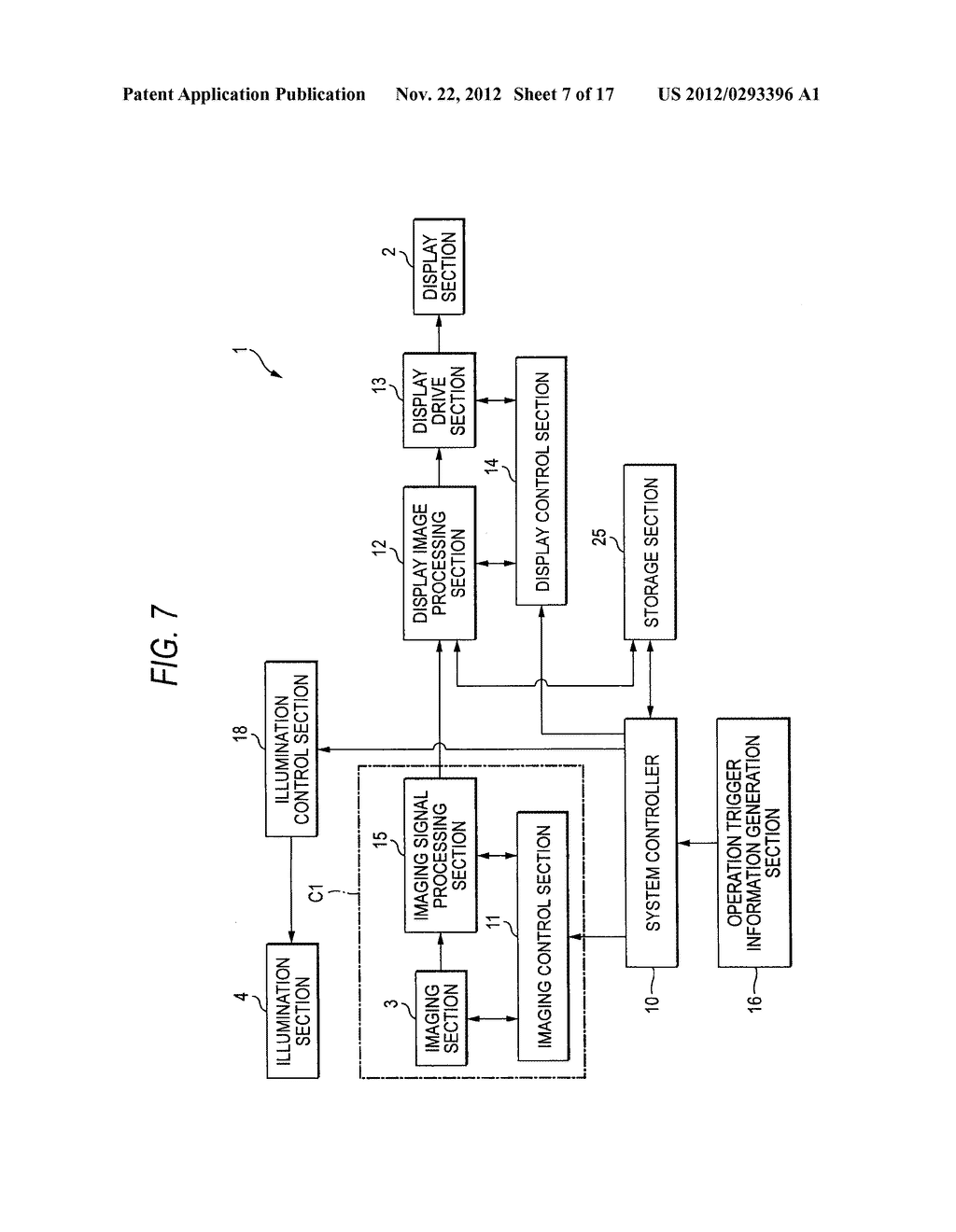 IMAGING DISPLAY APPARATUS AND METHOD - diagram, schematic, and image 08