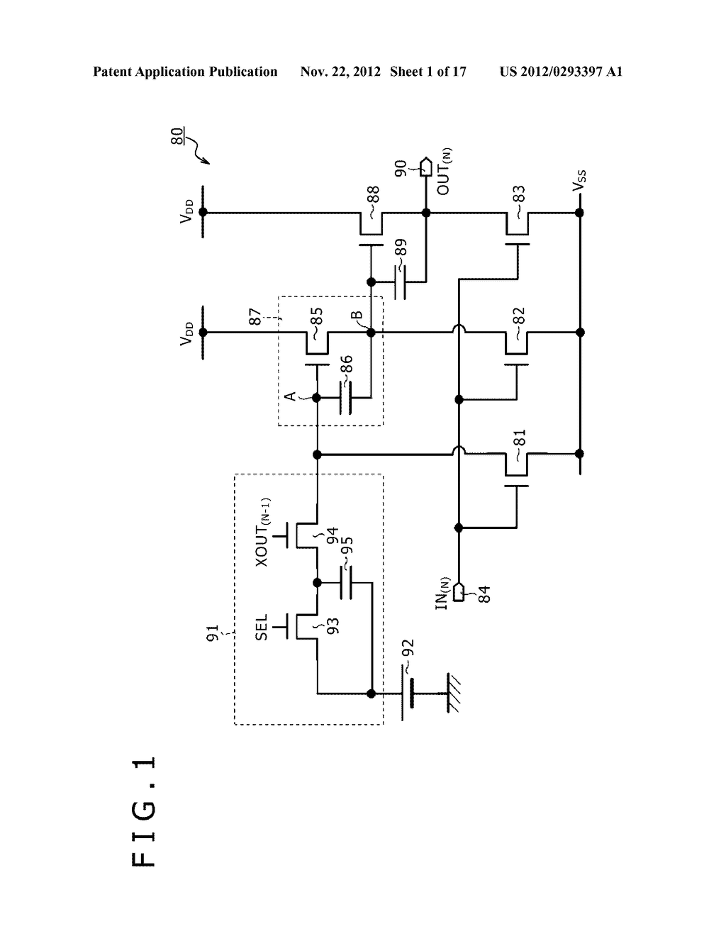 BOOTSTRAP CIRCUIT, INVERTER CIRCUIT, SCANNING CIRCUIT, DISPLAY DEVICE, AND     ELECTRONIC APPARATUS - diagram, schematic, and image 02