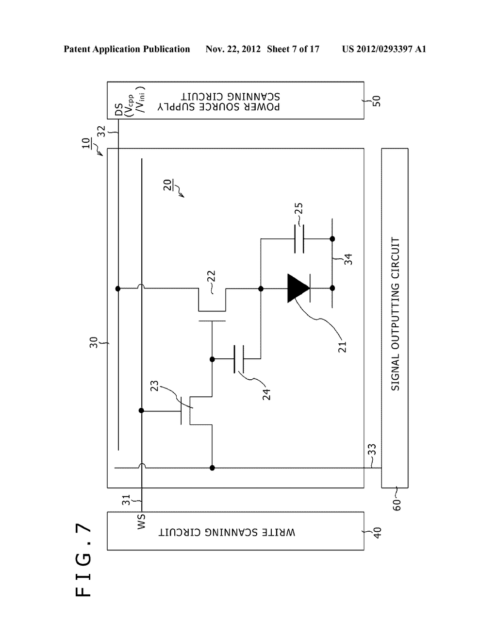 BOOTSTRAP CIRCUIT, INVERTER CIRCUIT, SCANNING CIRCUIT, DISPLAY DEVICE, AND     ELECTRONIC APPARATUS - diagram, schematic, and image 08