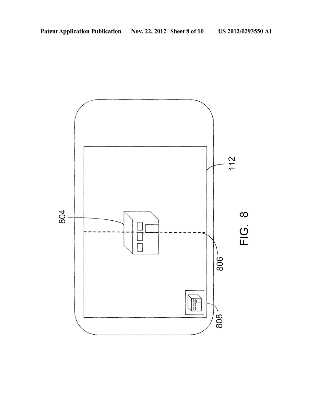 LOCALIZATION DEVICE AND LOCALIZATION METHOD WITH THE ASSISTANCE OF     AUGMENTED REALITY - diagram, schematic, and image 09