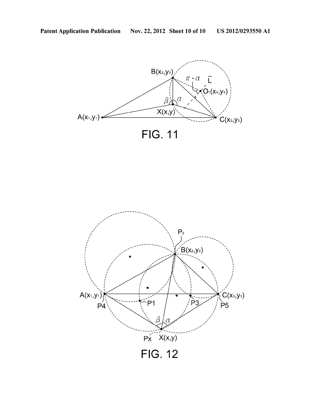 LOCALIZATION DEVICE AND LOCALIZATION METHOD WITH THE ASSISTANCE OF     AUGMENTED REALITY - diagram, schematic, and image 11
