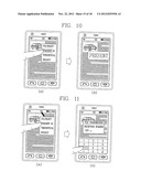 MOBILE TERMINAL AND USER INTERFACE OF MOBILE TERMINAL diagram and image