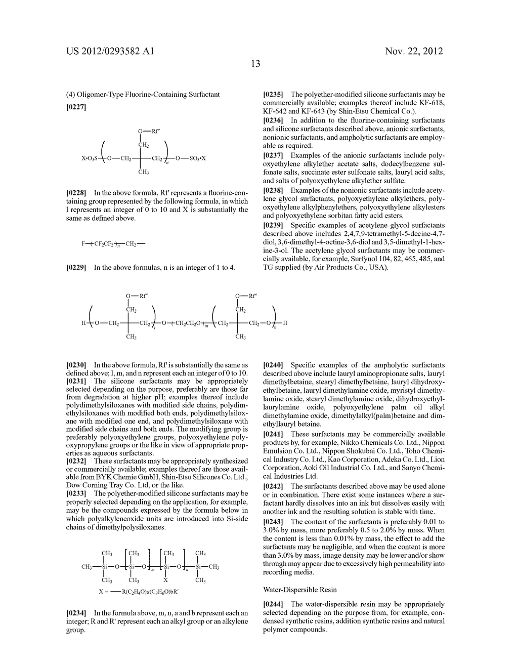 PIGMENT DISPERSION, RECORDING INK, INK CARTRIDGE, INK-JET RECORDING METHOD     AND INK-JET RECORDING APPARATUS - diagram, schematic, and image 18