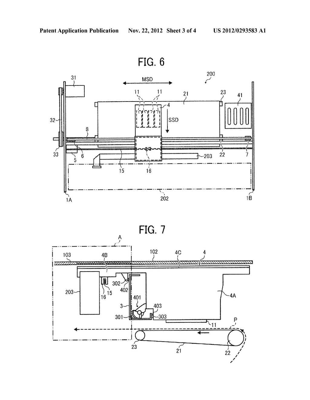 IMAGE FORMING APPARATUS WITH CARRIAGE MOUNTING RECORDING HEAD FOR EJECTING     LIQUID DROPLETS - diagram, schematic, and image 04