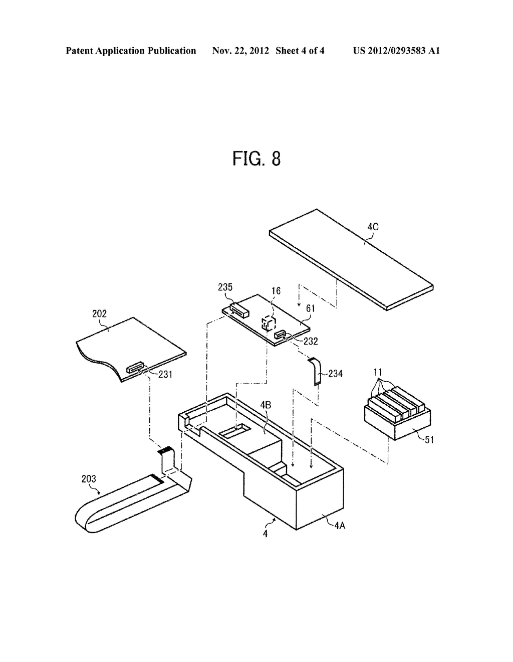 IMAGE FORMING APPARATUS WITH CARRIAGE MOUNTING RECORDING HEAD FOR EJECTING     LIQUID DROPLETS - diagram, schematic, and image 05