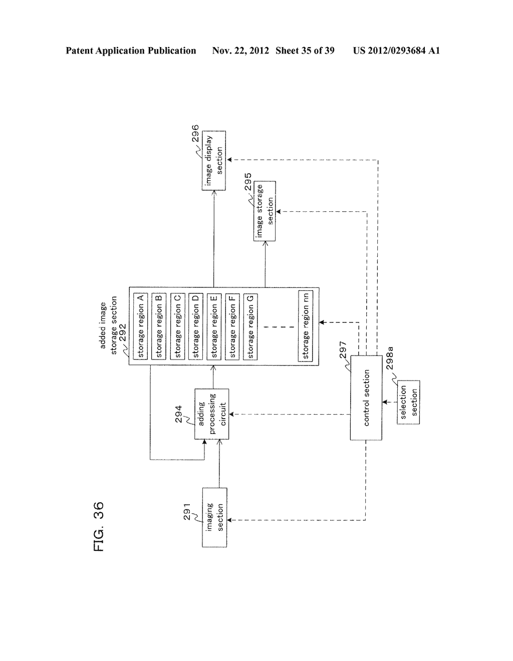 IMAGING DEVICE AND CONTROL METHOD FOR IMAGING DEVICE - diagram, schematic, and image 36